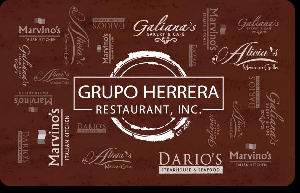 Buy a Grupo Herrera Gift Card